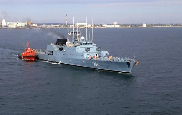 В Минобороны заявляют, что не впустили российские корабли