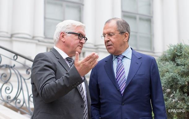 Лавров и Штайнмайер обсудили подготовку к встрече нормандской четверки