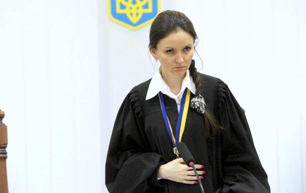 Судью Царевич отстранили от работы на два месяца