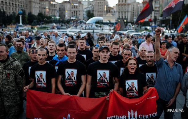 Ярош грозит новыми протестами Правого сектора