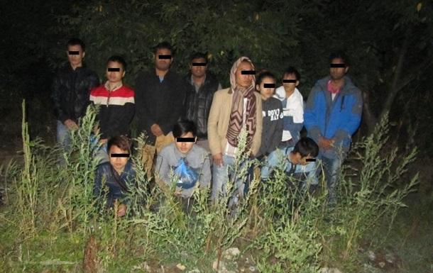 В Закарпатье задержали 13 нелегалов из Вьетнама, Бангладеша и Сирии
