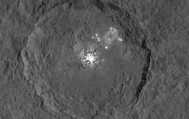 Ученые приблизились к разгадке таинственных пятен на Церере