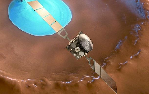 ESA показало необычное фото  обнаженного  Марса