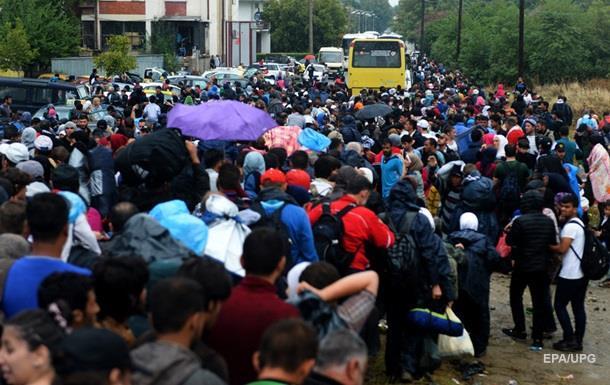 Транзитная Венгрия. Мигранты хотят в Германию и Австрию