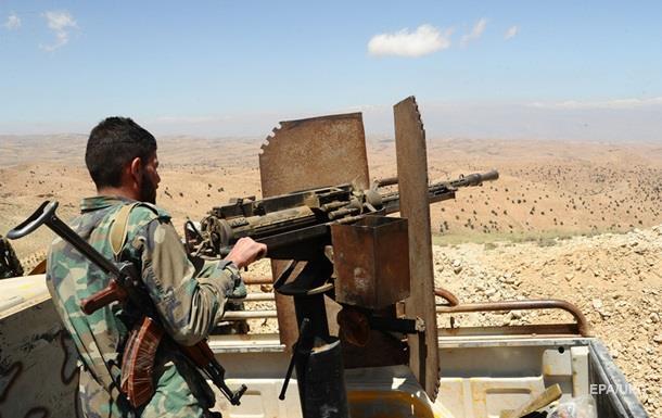 Сирийская армия заблокировала исламистов в пригороде Дамаска