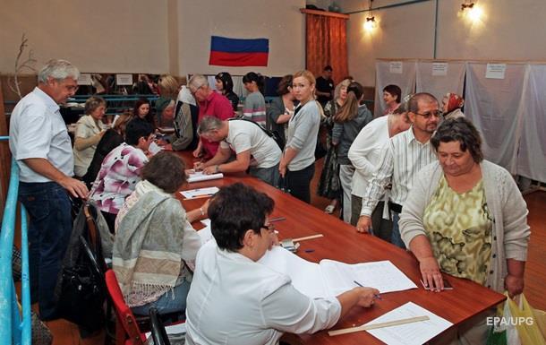 Россия проводит выборы в Крыму