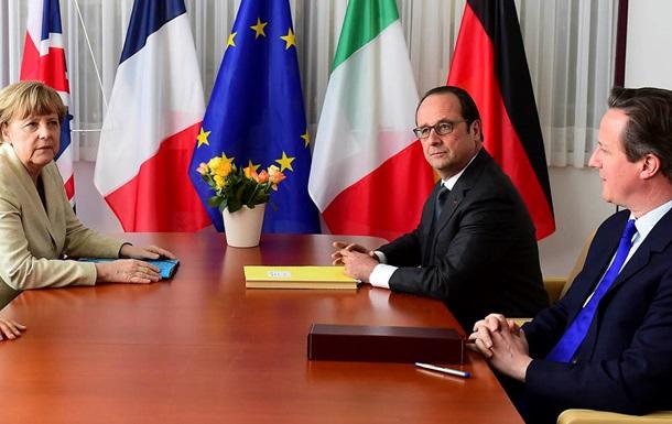 Европейские лидеры призвали власти Ирана признать Израиль