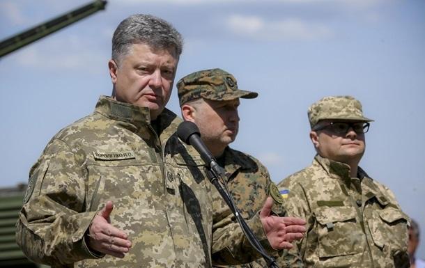 Порошенко вновь попросил поставить оружие Украине