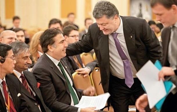Порошенко: Саакашвили будет отличным премьером Грузии