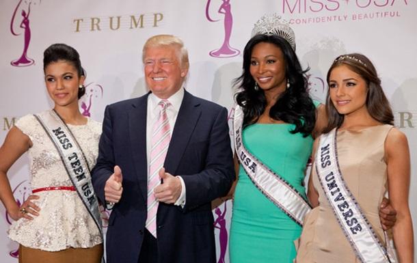 Дональд Трамп продает конкурс  Мисс Вселенная