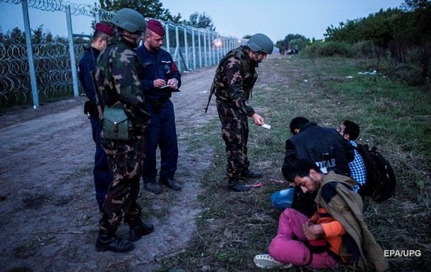 В Венгрии задержаны более девяти тысяч мигрантов