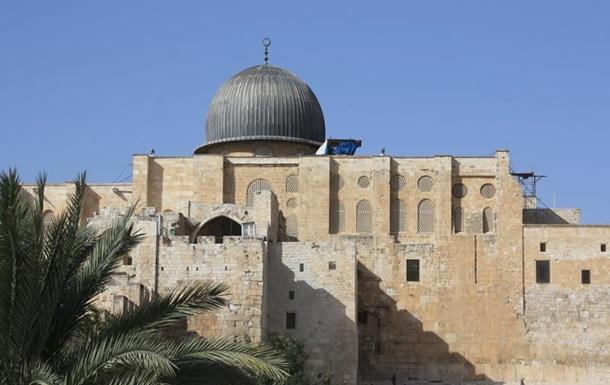 В Иерусалиме возобновились беспорядки на Храмовой горе