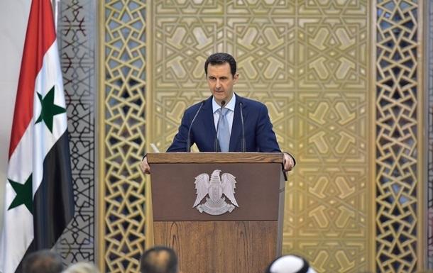 Асад: Запад хочет сместить власть в России и Сирии