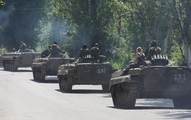 В Минске не смогли договориться об отводе техники