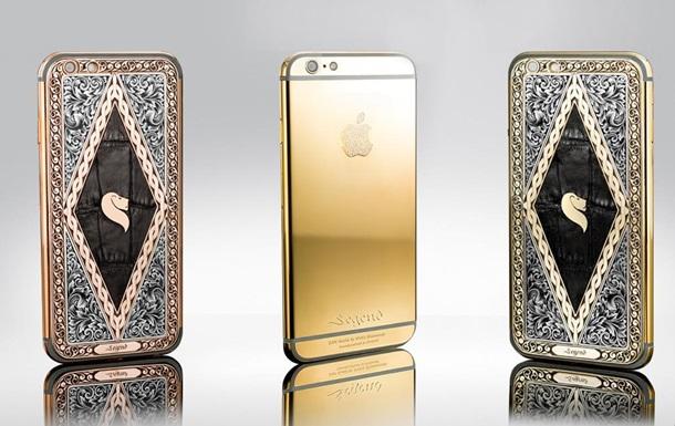 Финны выпустили iPhone 6s в золоте и с бриллиантами