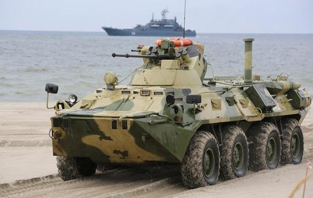 Российские десантники высадятся в Египте