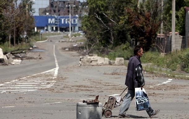 ОБСЕ: Подконтрольное ДНР Логвиново полностью разрушено и заброшено