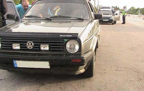 На трассе под Киевом остановили автомобиль с боеприпасами
