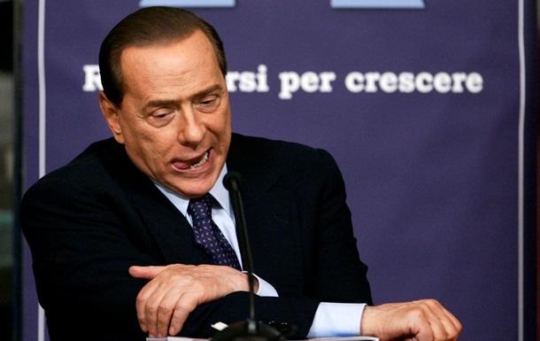 Сильвио Берлускони запретили въезд в Украину