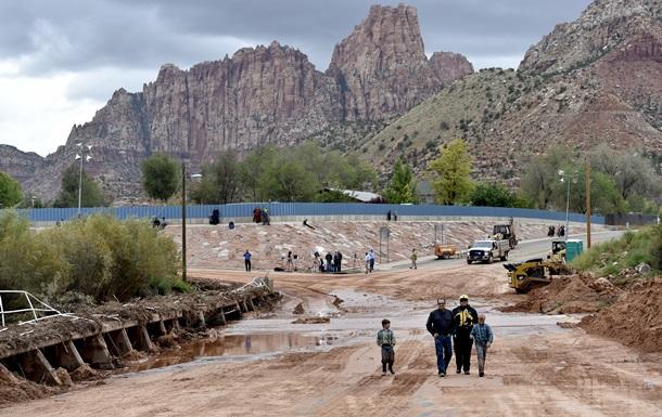 Наводнение в национальном парке штата Юта унесло жизни семи человек