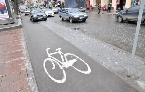 Во Львове презентовали карту велодорожек до 2020 года