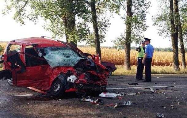 ДТП на Киевщине: двое погибли, четверо травмированы