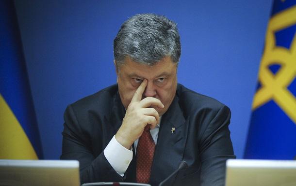 Порошенко прокомментировал арест Мосийчука