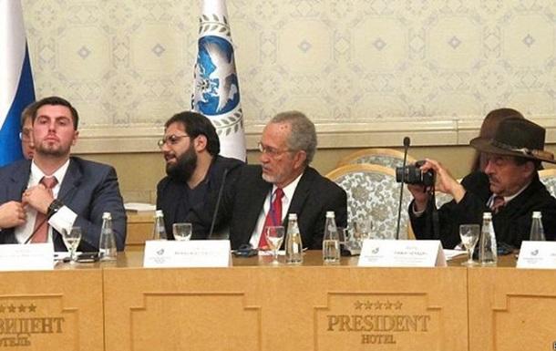 В Москве прошел  съезд сепаратистов  и борцов с Америкой