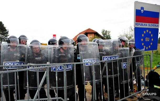 Словения начала строить стену на границе с Хорватией