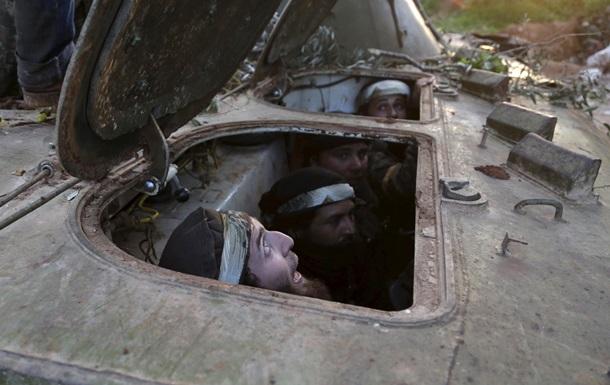 Сирийские повстанцы готовятся противостоять российскими войскам - Times