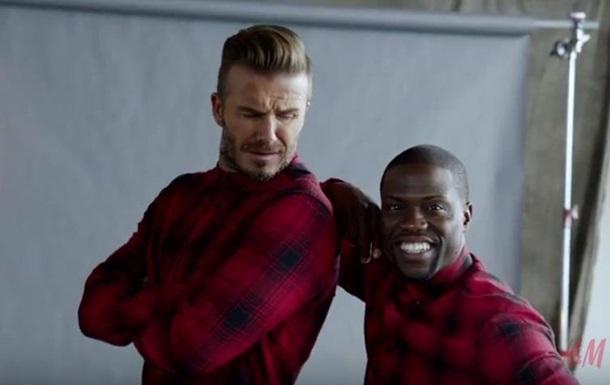 Дэвид Бекхэм снялся в комедийном ролике для H&M