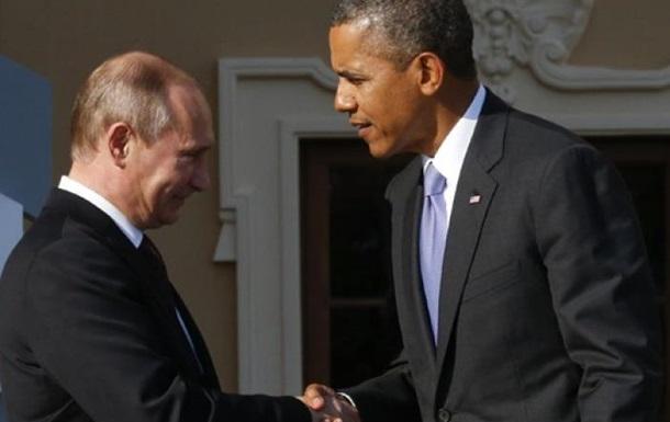 Путин боится встречи с Обамой