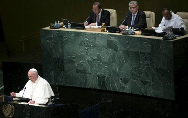 Папа Римский призвал подумать о климате и судьбе бедных