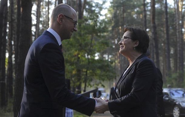 Польские СМИ рассказали детали возможного покушения на Яценюка и Копач