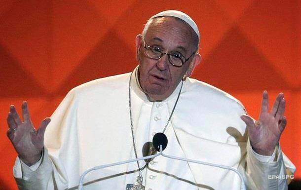 Папа Римский рассказал прихожанам шутку о теще