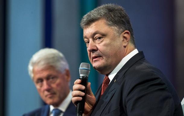 Порошенко: Судьбу Украины должны решать украинцы, а не Россия