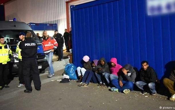 В лагере для беженцев в Германии произошли беспорядки