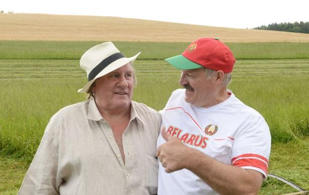 Лукашенко выделил $2 млн на фильм с Жераром Депардье