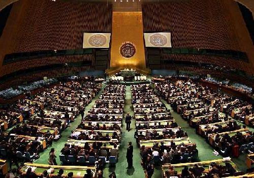 Выступление Президента Украины на Генассамблее ООН