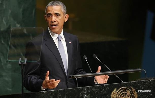 Обама в ООН: Мир не может стоять в стороне, когда РФ нарушает права Украины