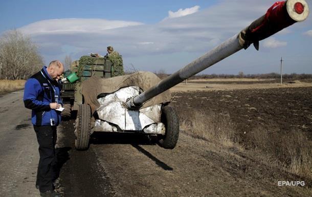 ОБСЕ предложила новые идеи по отводу вооружений в Донбассе
