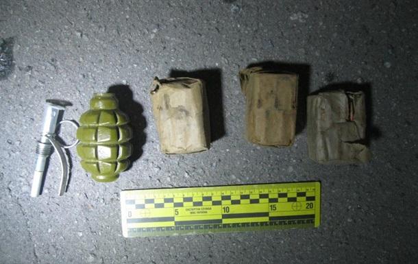 Под Харьковом задержали грузина с гранатой