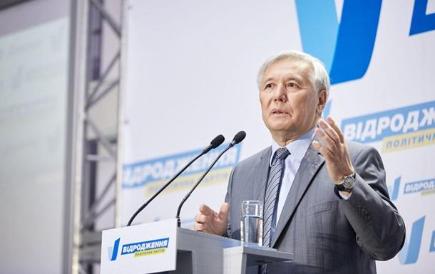 Ехануров стал кандидатом в мэры Киева от партии  Видродження