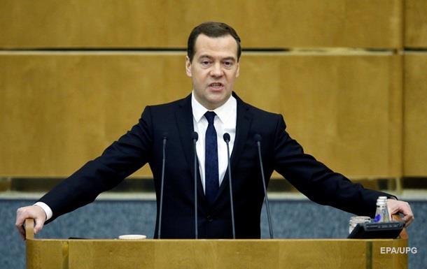 Медведев обещает ответ на экономическое соглашение Украины с ЕС