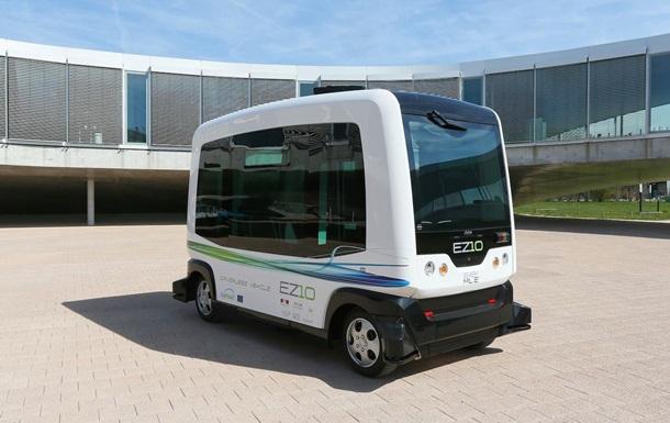 В Нидерландах запустят управляемые со смартфона беспилотные автобусы