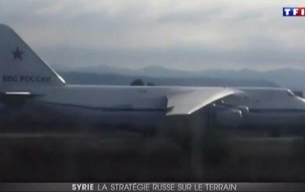 Французские журналисты сняли военную технику России в Сирии