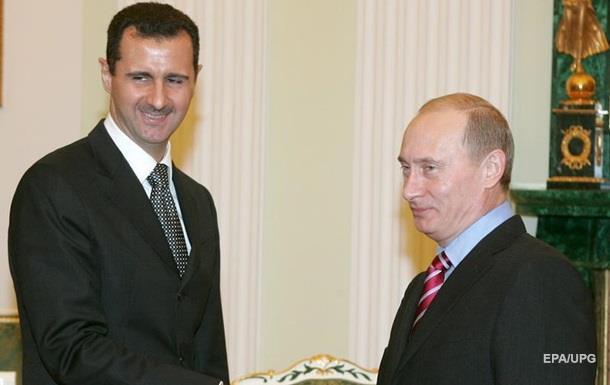 Дамаск подтвердил обращение к Путину за военной помощью