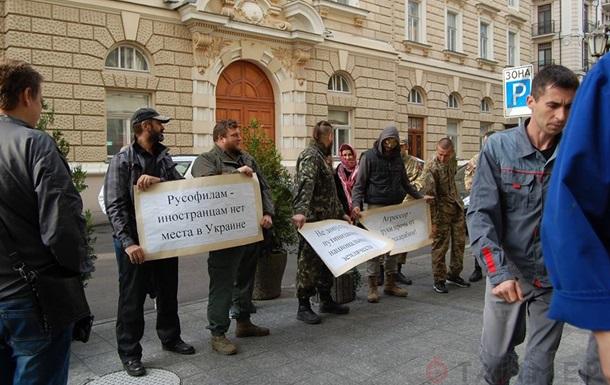Правый сектор блокирует отель в центре Одессы – СМИ
