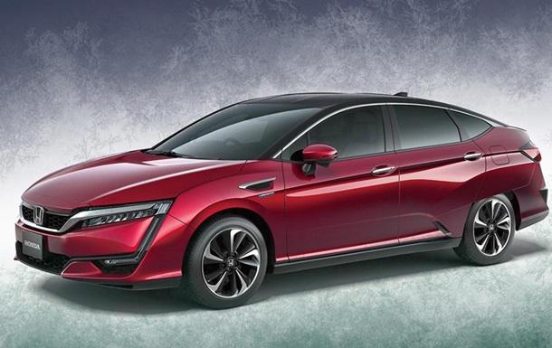 Honda рассекретила дизайн нового водородного хэтчбека