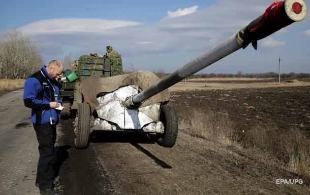 В ЕС одобрили отвод вооружений на Донбассе